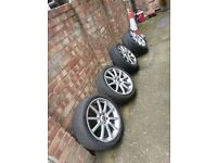 """Alloy whel18"""" And 225/40/18 Tyres"""