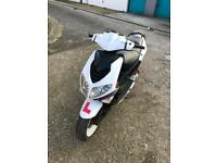 125cc speedfighter moped scooter vespa honda piaggio gilera