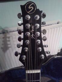 12 string ''GREG BENNET'' SAMICK guitar