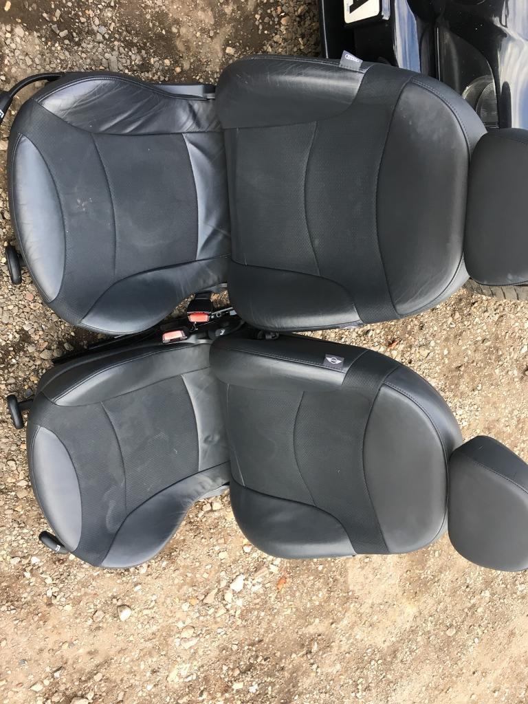 Mini Cooper half leather interior/ seats