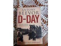 World War II book- D-day by Anthony Beevor