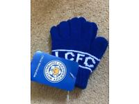 Toddler Leicester city FC gloves brand new
