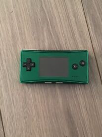 Gameboy micro green