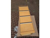 Free Wooden 4 Drawer Filing Cabinet