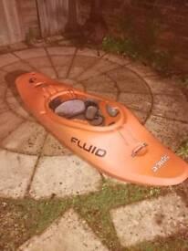 Fluid spice kayak. Medium.