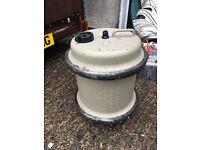 Caravan water barrel