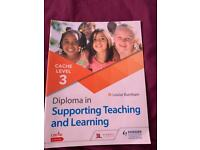 Supporting teaching level 3