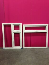 Upvc factory miss measured windows frames for sale - As new condition from £10 - FREE LOCAL DELIVERY