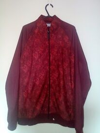 Pretty Green, red tracksuit top, large as new