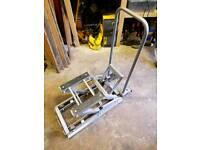 Hydraulic motorcycle lift 1500lbs