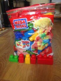 Bag of MEGA BLOKS