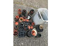 Job lot garden pots greenhouse