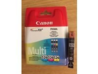 Genuine Canon Pixma ink cartridges