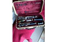 Selmer Clarinet Central Tone B40 in original case.