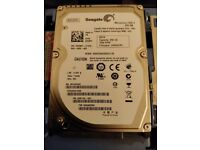 "Seagate 250gb sata 2.5"" laptop hard drive 7200rpm"