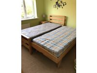 Bensons Hip Hop Single Bed Frame and spare bed