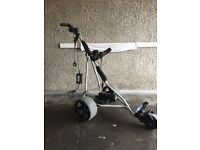 Powacaddy Golf trolley with charger (no battery)