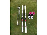 Ladies/Girls Skis, Ski Boots & Poles
