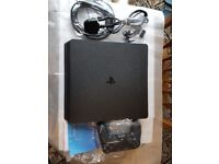 Brand new ps4 slim in box with controller and leads