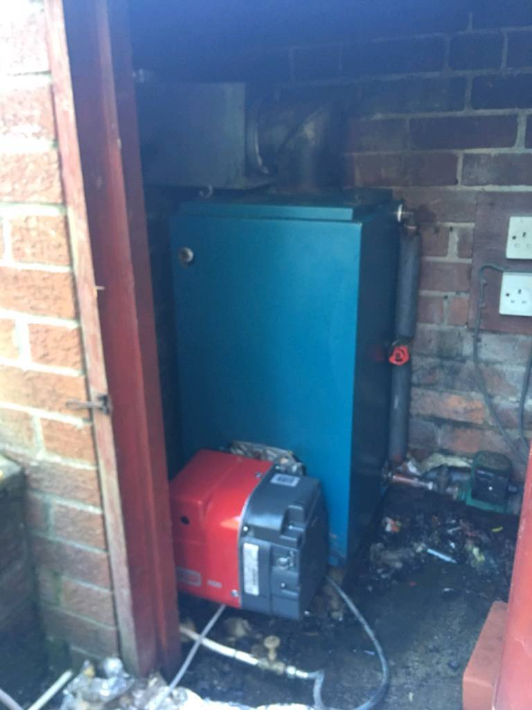 Oil fired boilers and burners supply and fit all in vgc £380 with ...