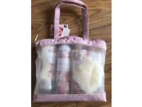 M&S Magnolia toiletry bag BNWT Mother's day