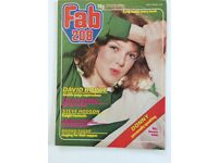 Retro FAB 208 magazine dated 20 October 1979
