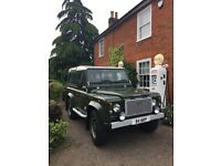 Collectable Land Rover defender heritage