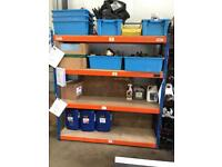 Industrial Racking and Benches