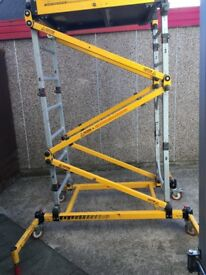 access platform go razor deck working platform ladder