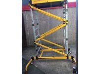 access platform go razor deck working platform ladder