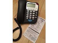 New Binatone Lyris 310 Corded Telephone - Caller Display - SpeakerPhone - Elderly Friendly
