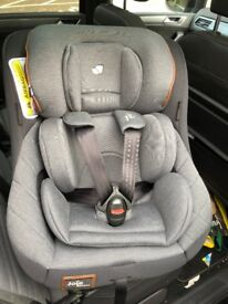 Joie Spin 360 Signature Car Seat (Only Used Twice)