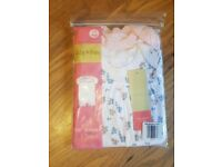 Lily & Dan pack of 2 Girls Baby rompers 3 sizes available 0-3, 3-6 & 6-9 months