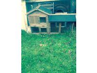 Small pet hutch