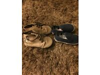 Baby boy shoes age 12-18 months