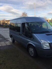Transit tourneo mini bus. 9 seater . Motd . Good condition.