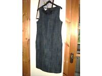 Monsoon checked pinafore dress, size 10,