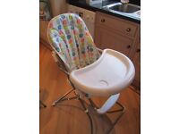 HIGHCHAIR WITH INSERT