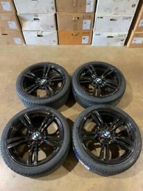 """Brand new set of 18"""" alloy wheels and tyres Bmw"""