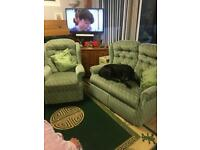2seater sofa 2chsirs 1recliner