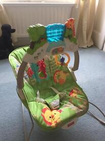 Fisher Price Rain Forest Deluxe Bouncer