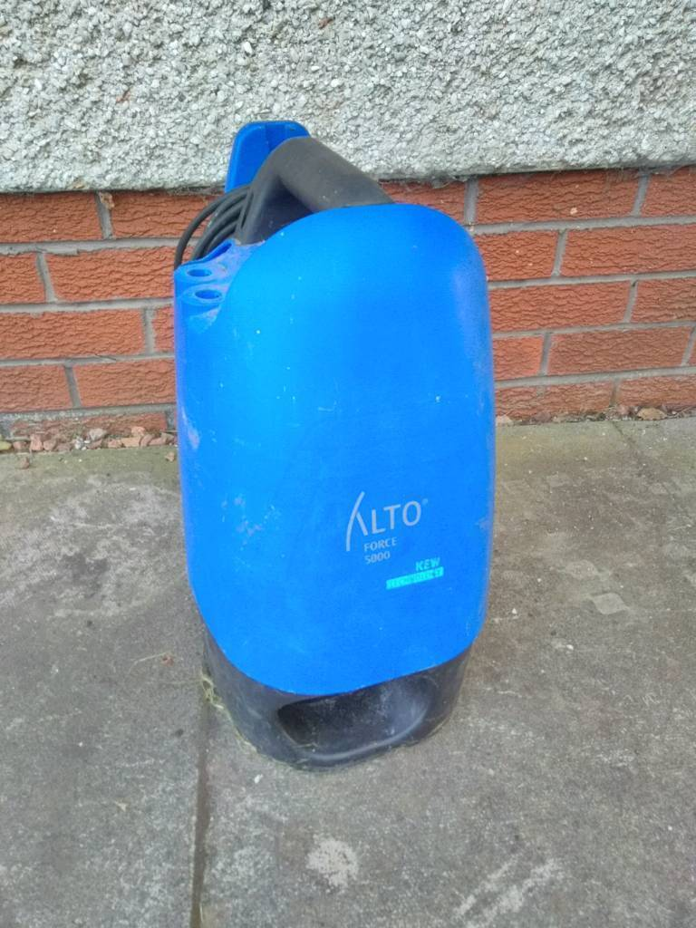 Alto (nilfisk) Force 5000 pressure washer not working