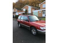 SUBARU FORRESTER AWD 4X4 ESTATE 2.0 PETROL NEW MOTNICE CONDITION LOVELY SPEC NO TIMEWAISTERS