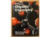 Loudon Organic Chemistry textbook. 6th edition. Hardback.