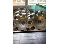 Skoda wheel trims