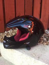Kids full face cycle helmet