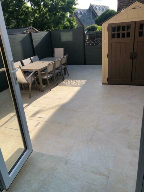 get online new design check out Castacrete - Italian porcelain - L'Altra pietra Castello Beige - 600mm X  600mm Garden, Patio, Steps | in Blackheath, London | Gumtree