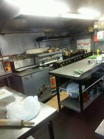 Running business indian takeaway for sale