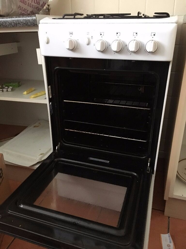 indesit gas oven cucina good working order