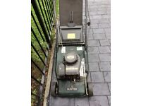 Hayter. 40 petrol push lawn mower. Working order could do with service and sharping